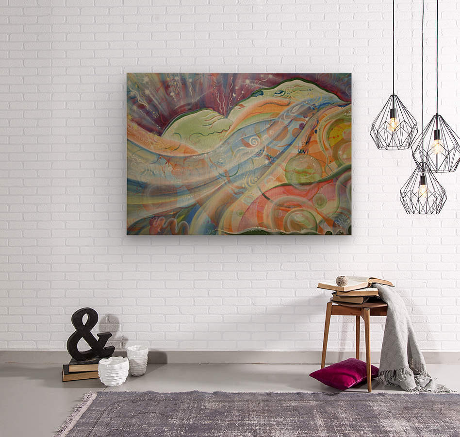 Dreams  Wood print