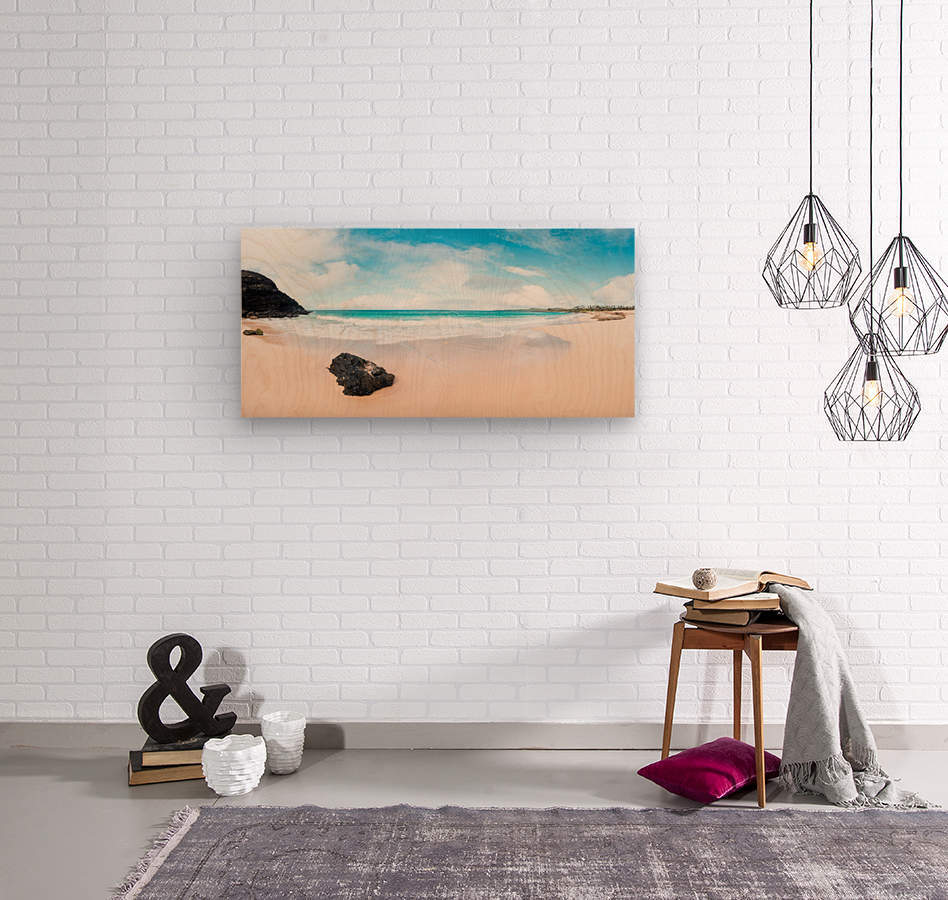 Kauai Paradise  Wood print