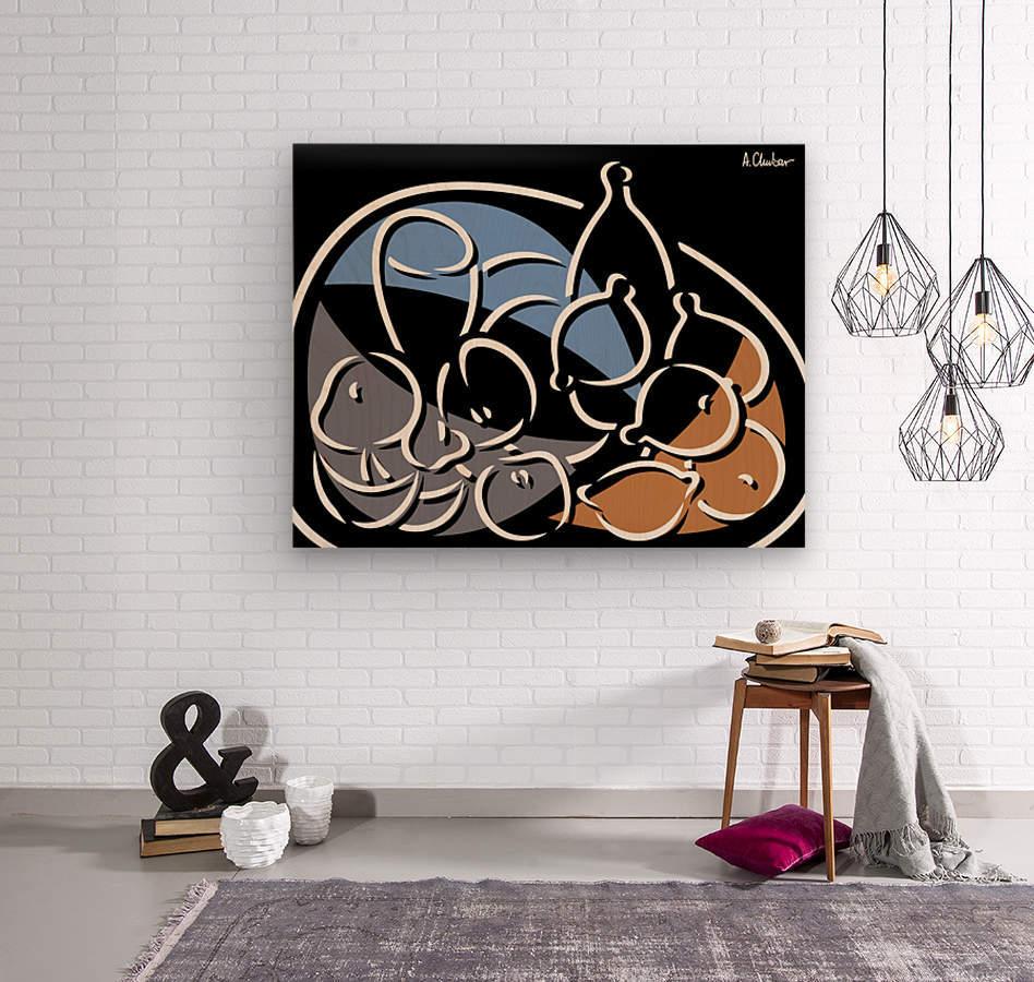 Still Life 6  Wood print