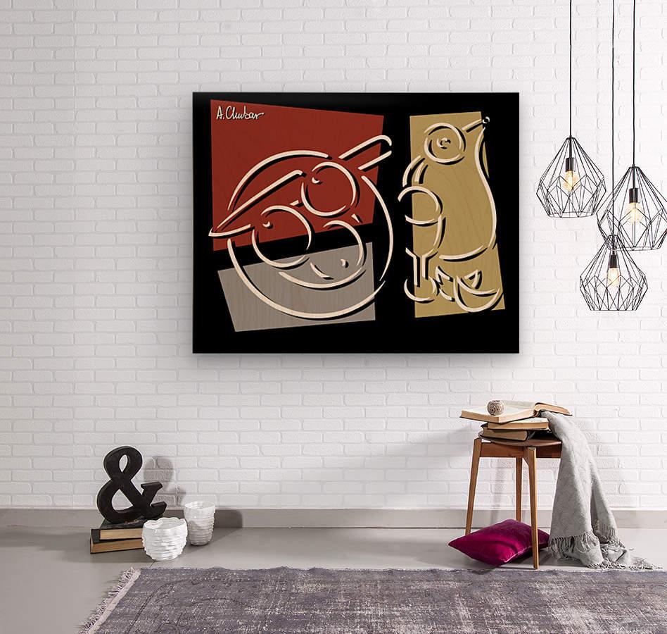 Still Life 1  Wood print