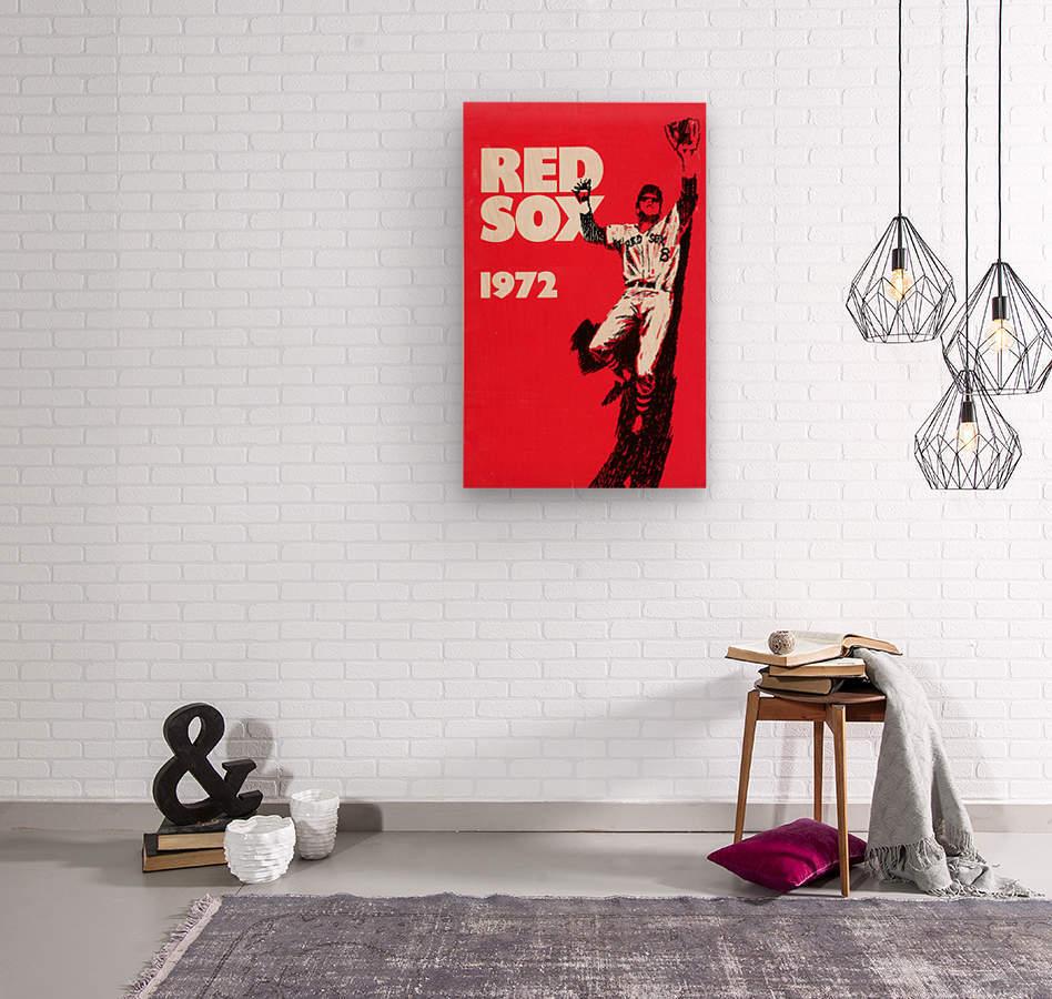 1972_Major League Baseball_Boston Red Sox_Fenway Park_Row One Brand  Wood print