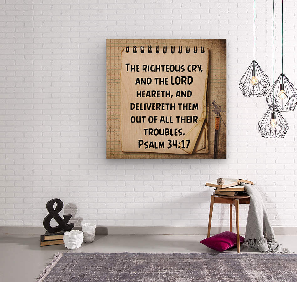 Troubles  Wood print