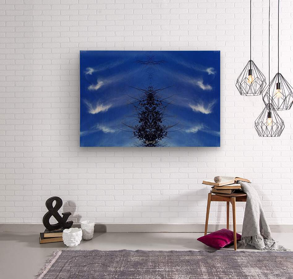 Cloudes 85  Wood print