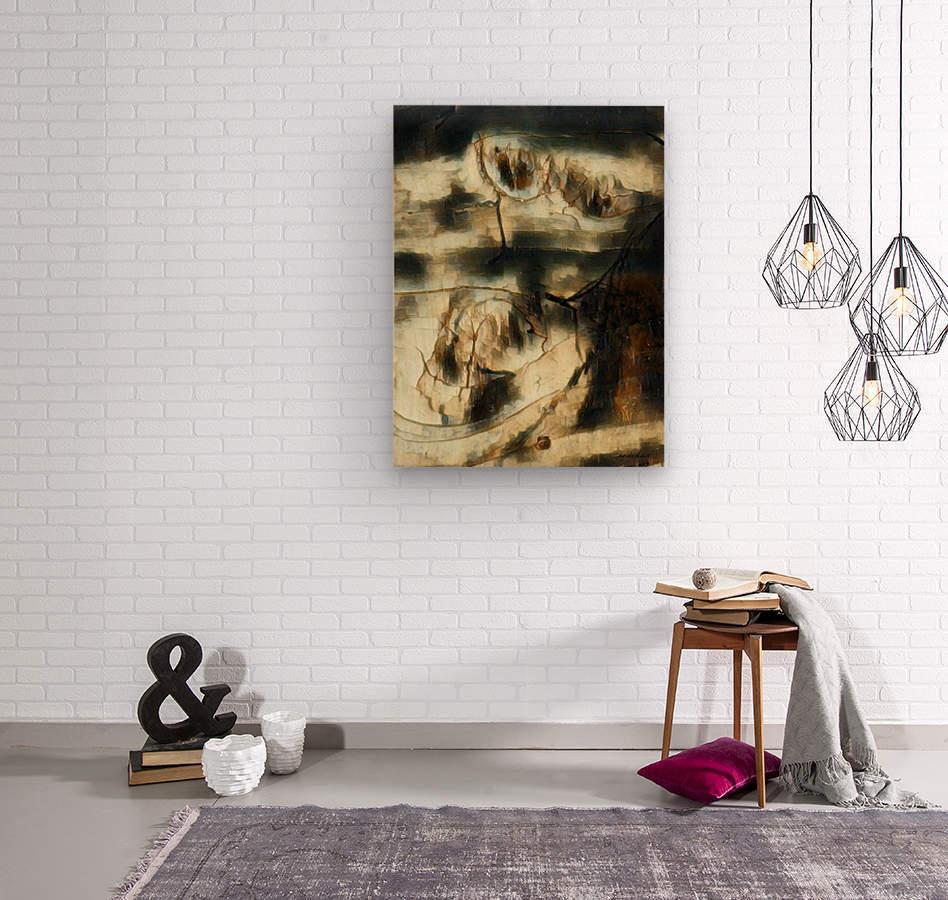 Entwine  Wood print