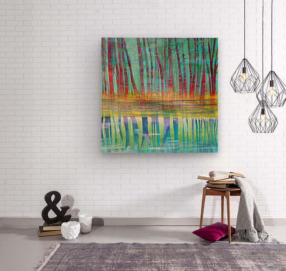 Icalma  Wood print