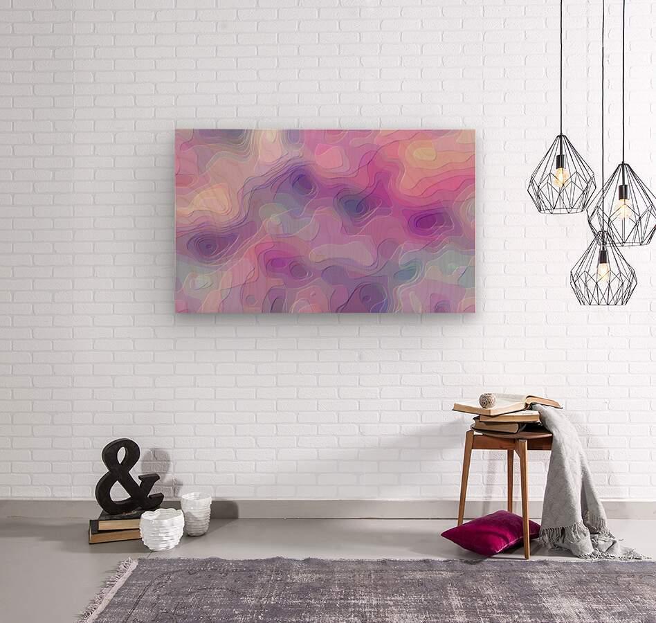 stylish decorating interior bedroom hall Living room 1  Wood print