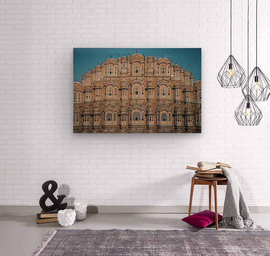 The Fortress - Hawa Mahal  Wood print