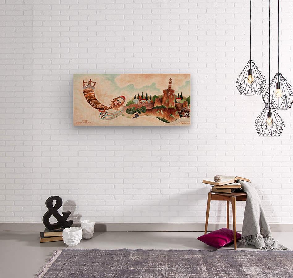 1989 015  Wood print