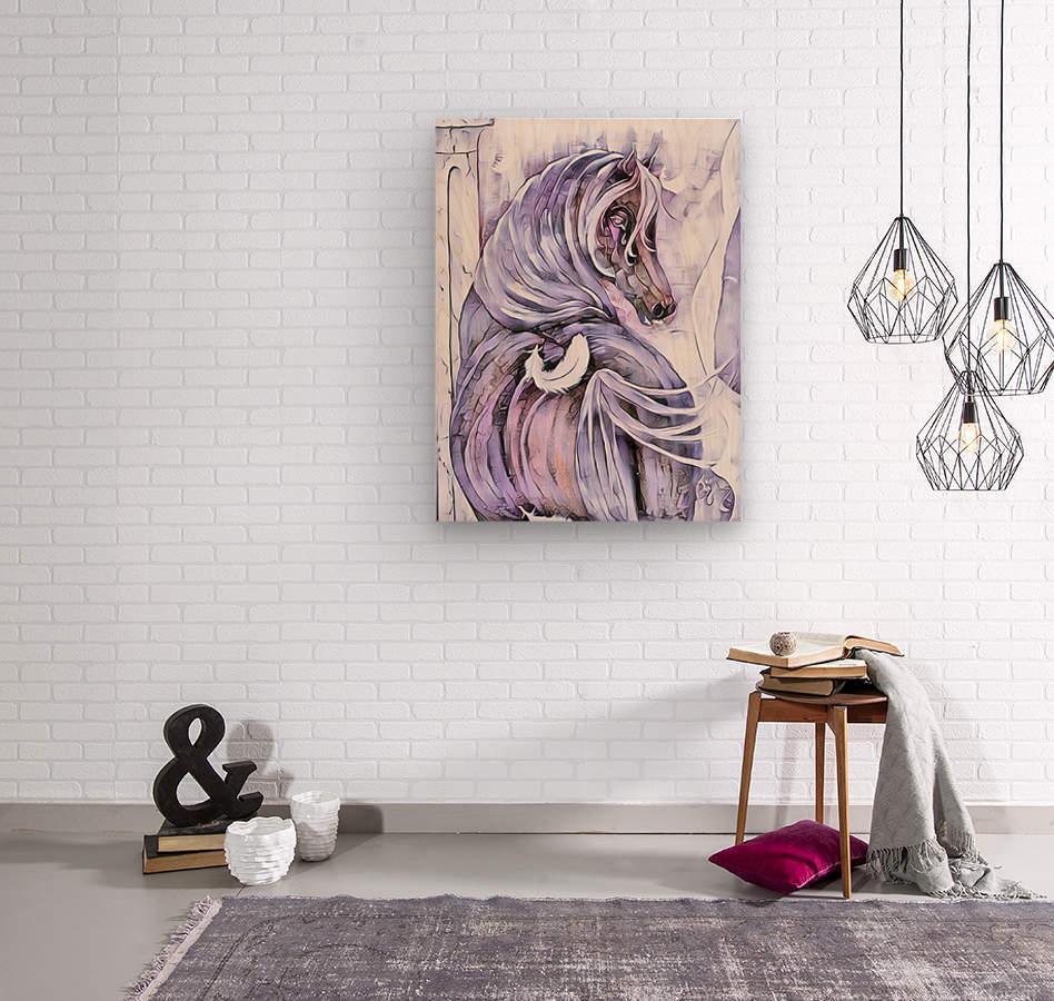 Emotion 2  Wood print