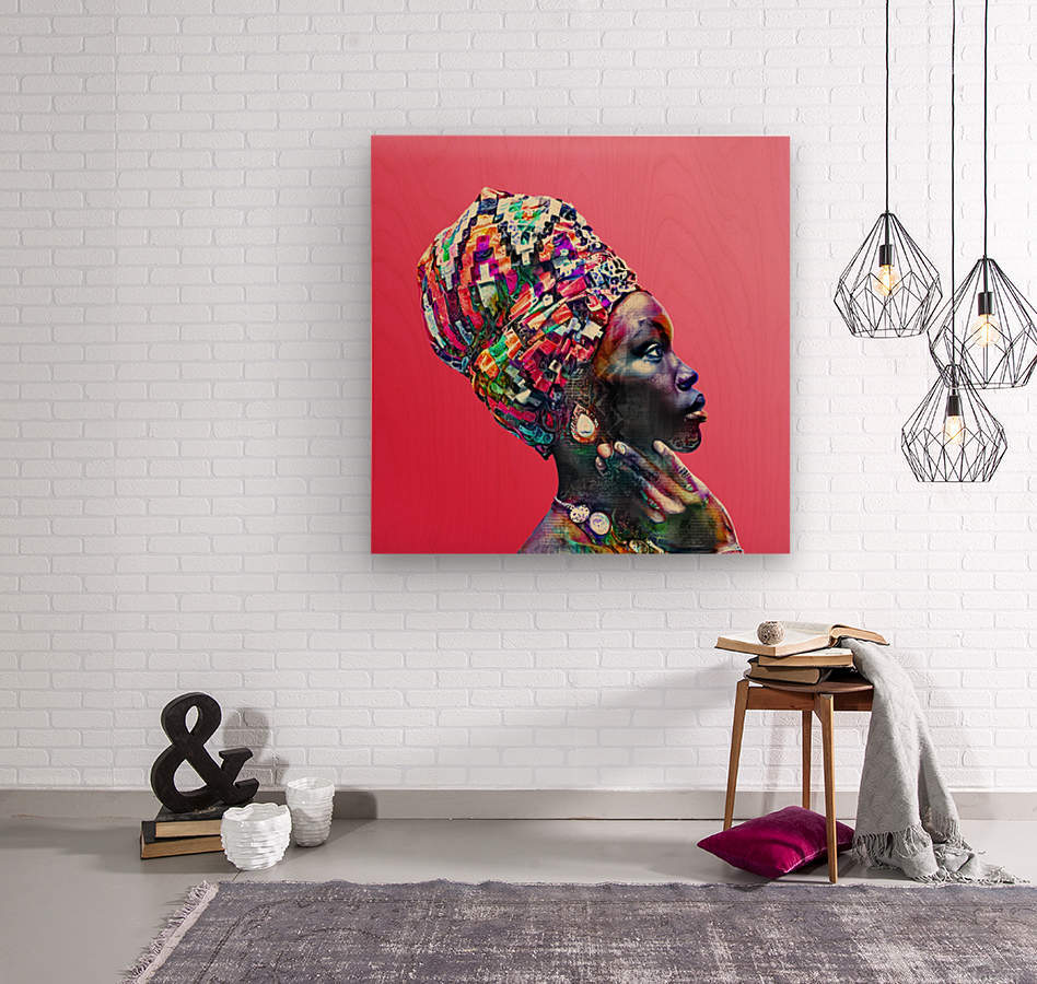 Color Through Culture VII  Wood print