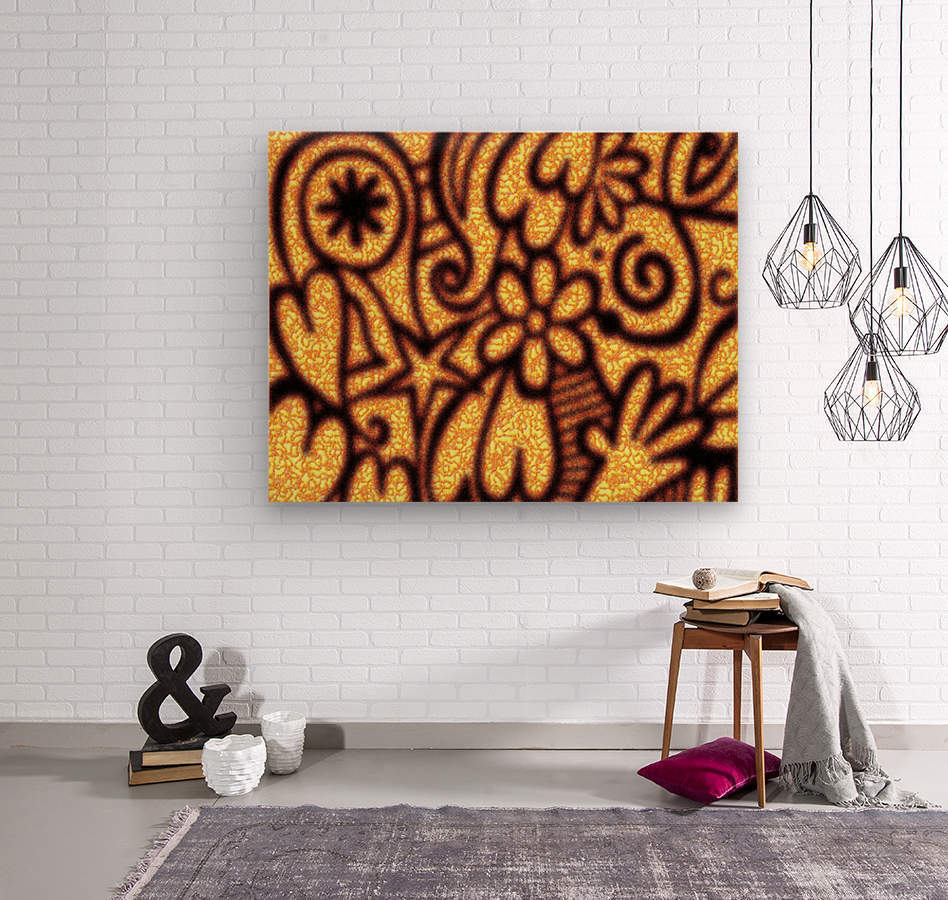 background pattern  Wood print