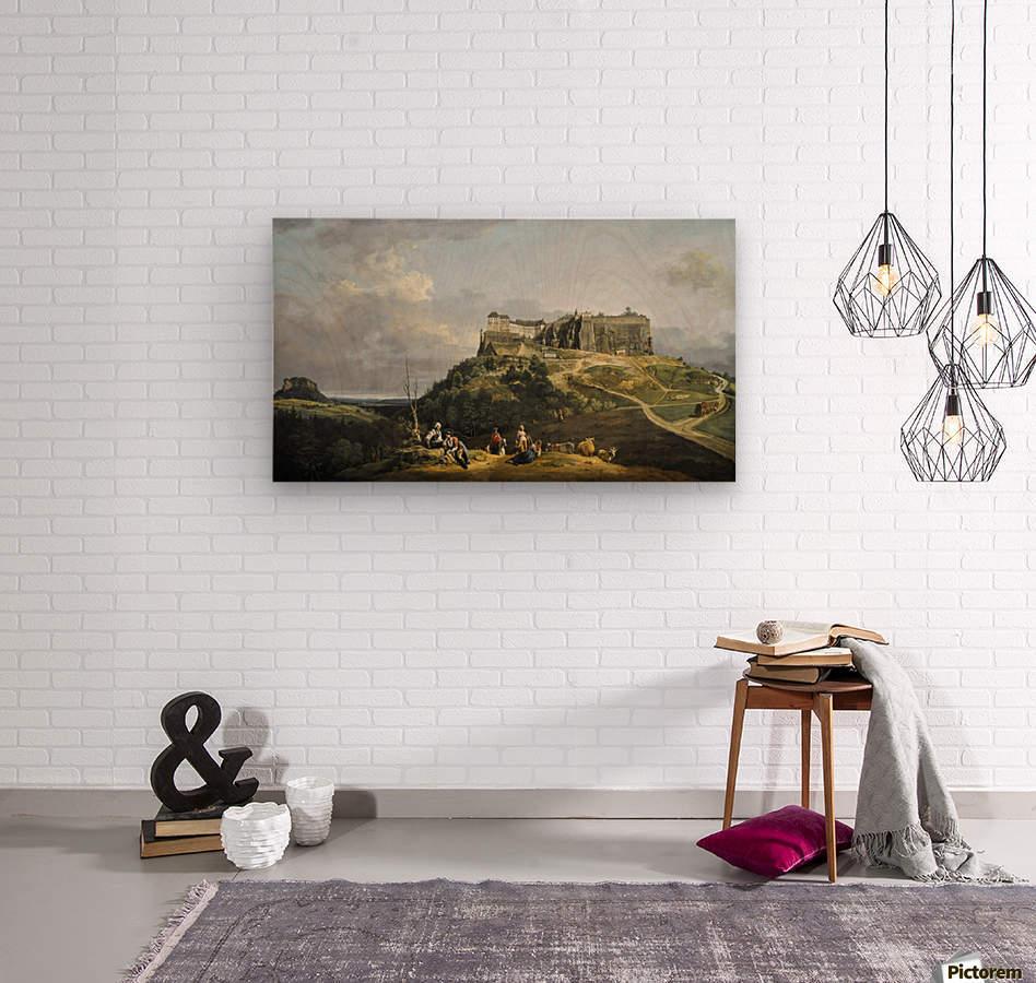 Festung Konigstein  Wood print