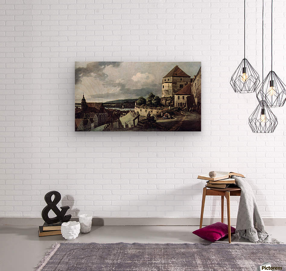 View from Pirna  Wood print