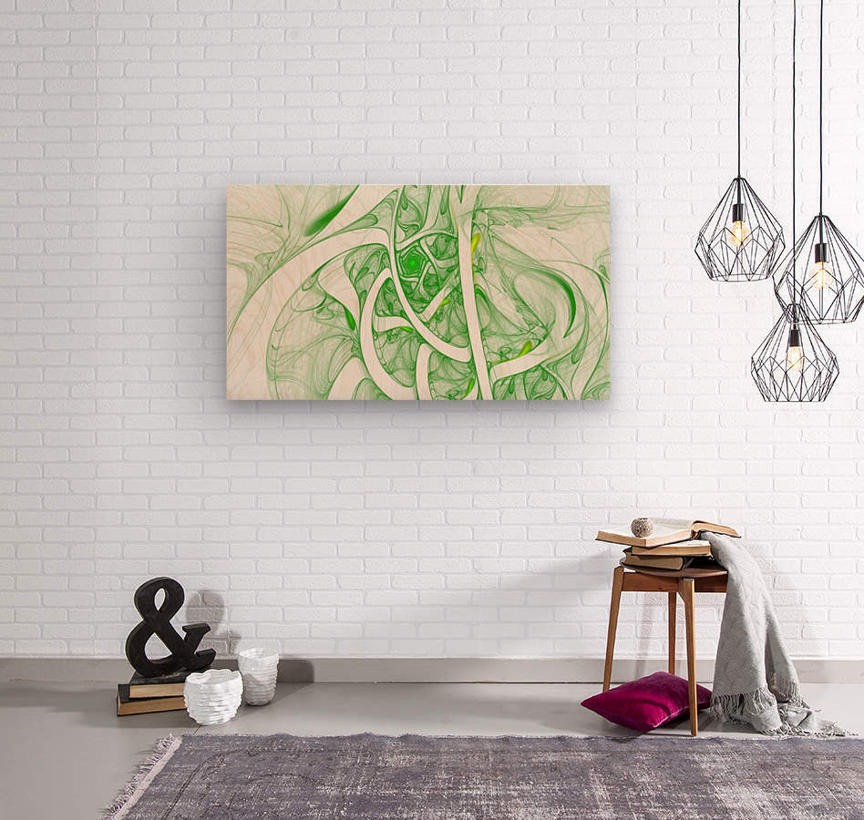 i122  Wood print