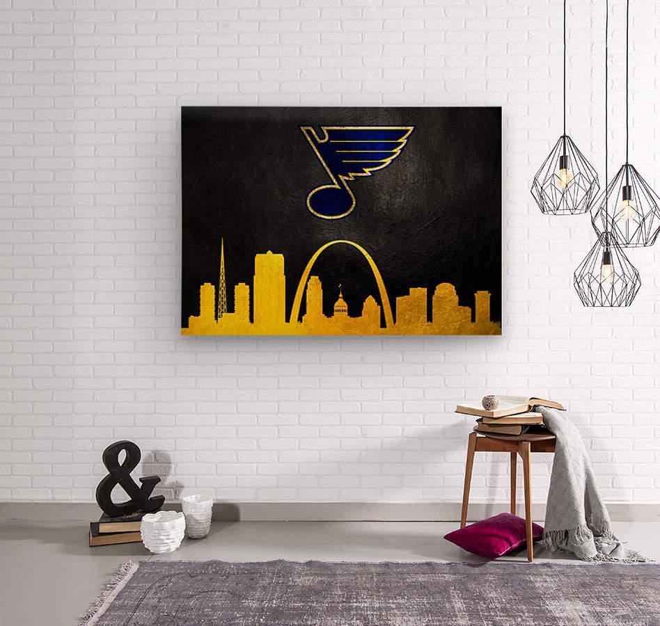 St Louis Blues  Wood print