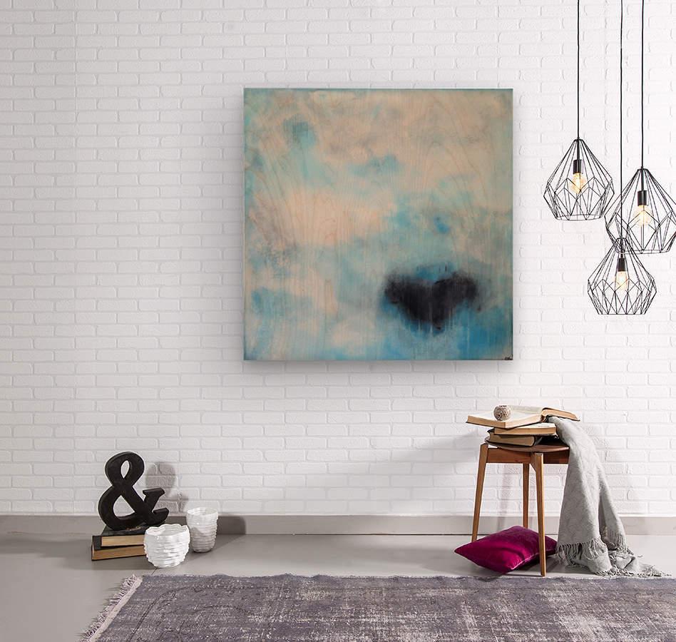 Naples Blue III  Wood print