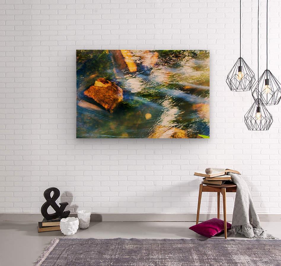 River I  Wood print