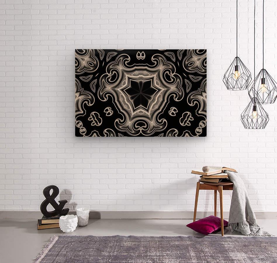Abstract digital Art  Wood print