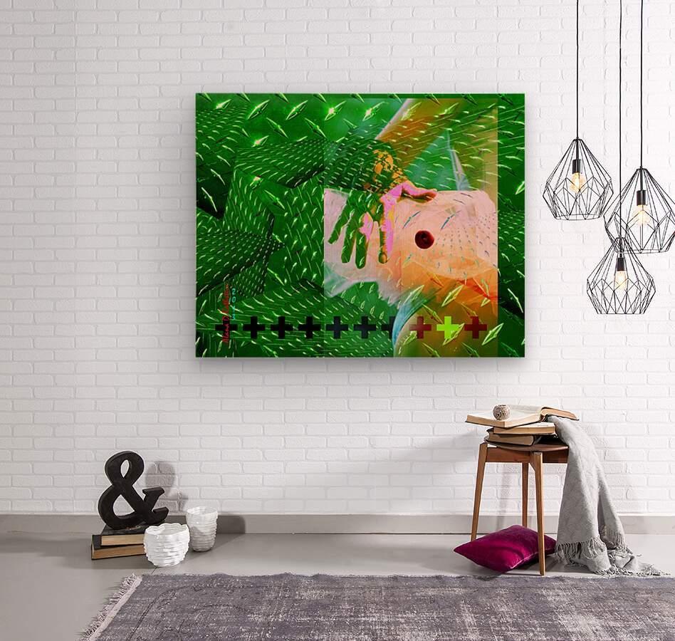 TUTU SMALL WORLD  Wood print