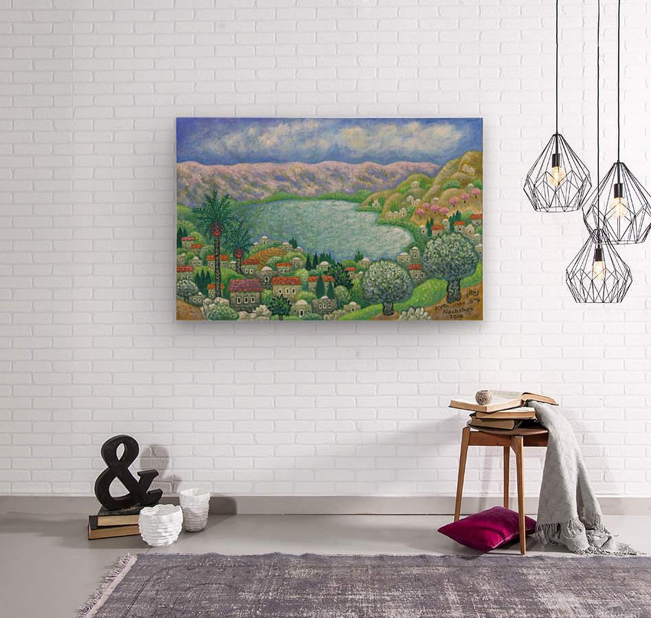 BNC2016-055  Wood print