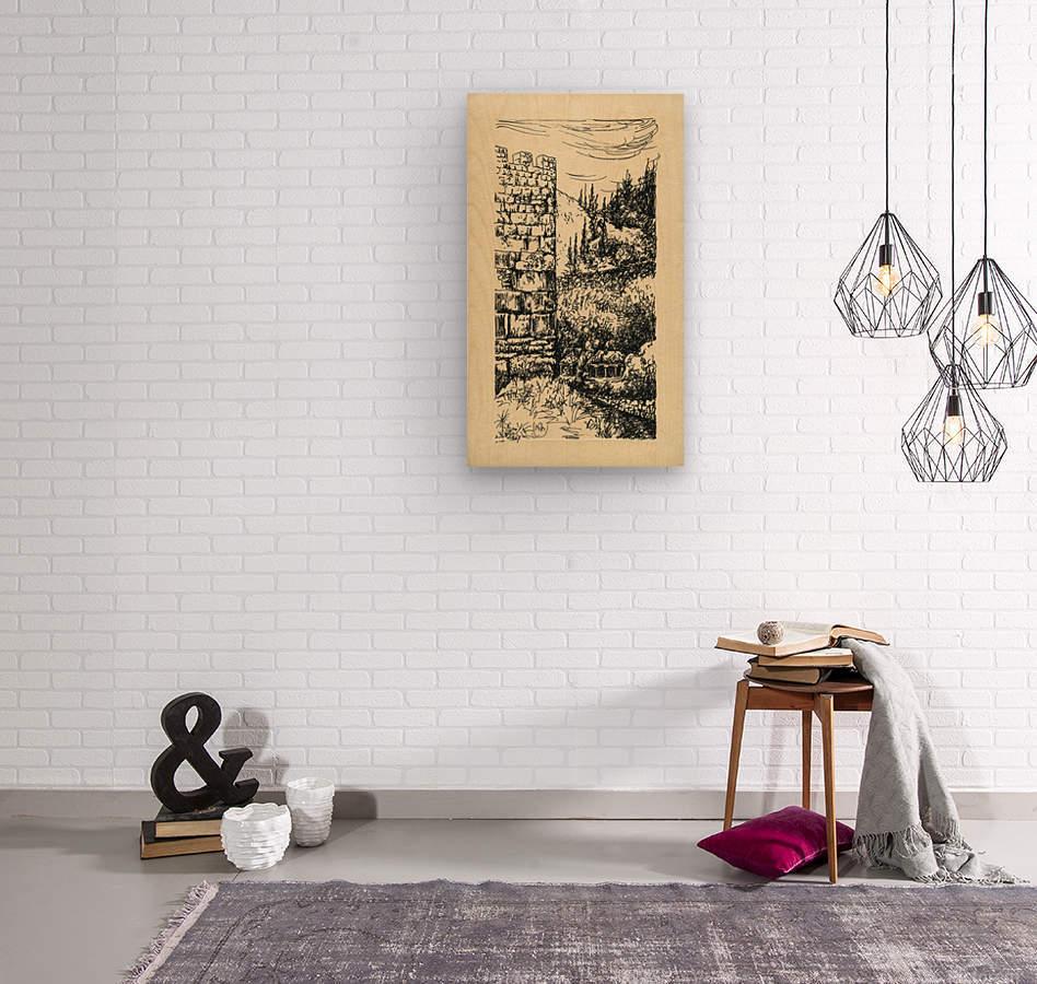 BNC1967 05  Wood print