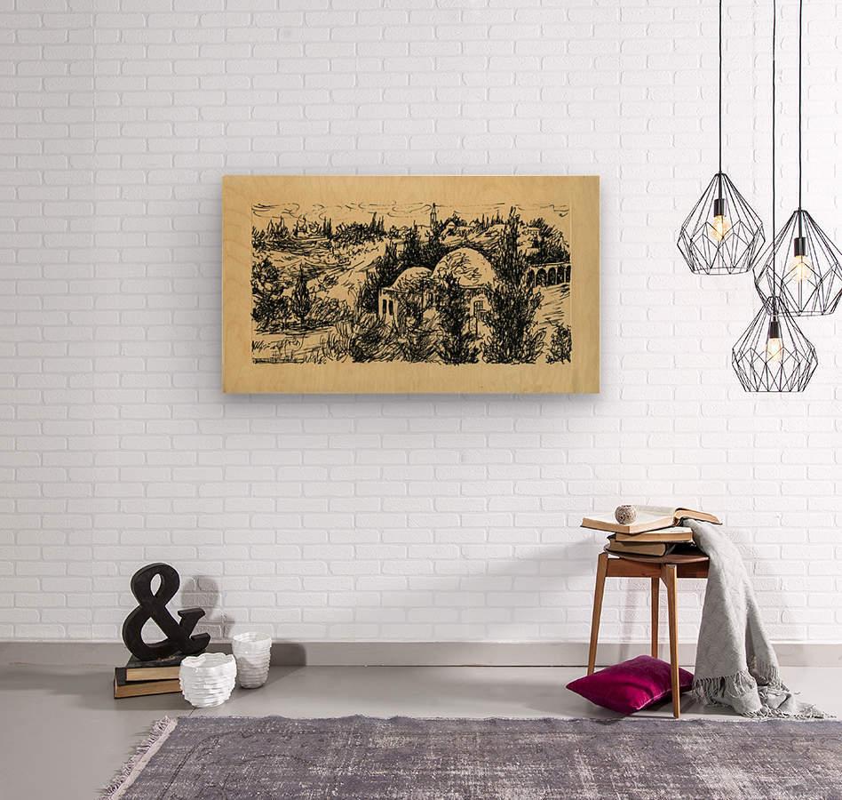 BNC1967-029  Wood print