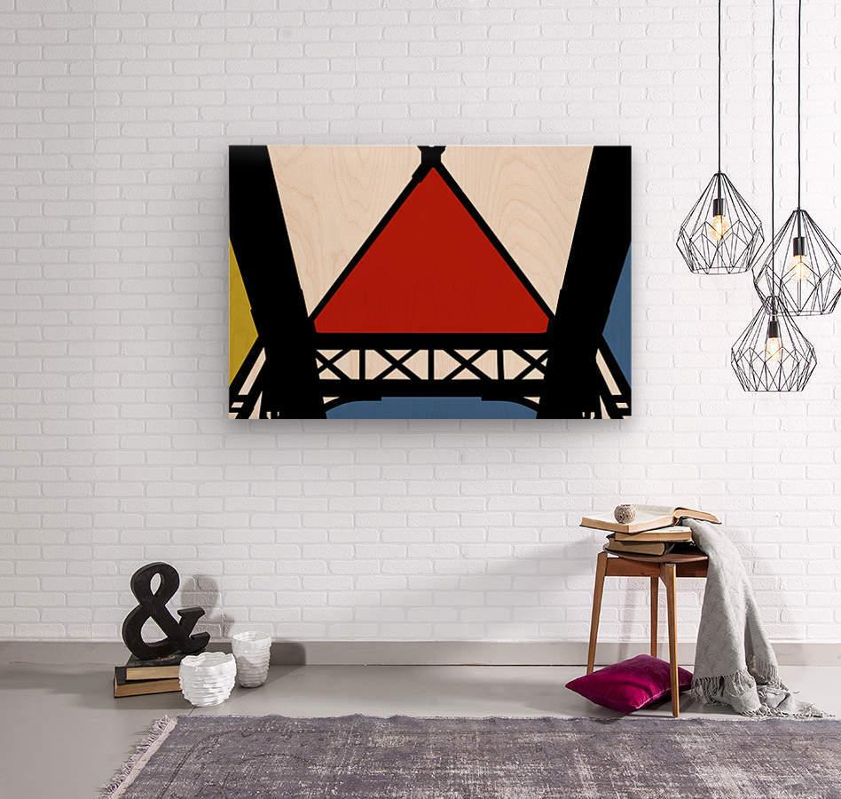 Bridge XII  Wood print
