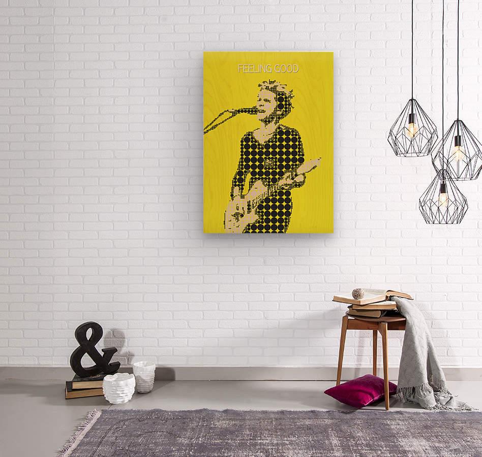 Feeling Good   Matt Bellamy  Wood print