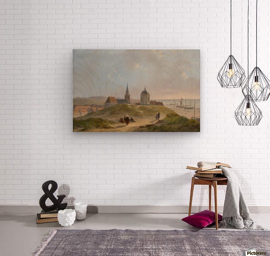 View on Scheveningen  Wood print