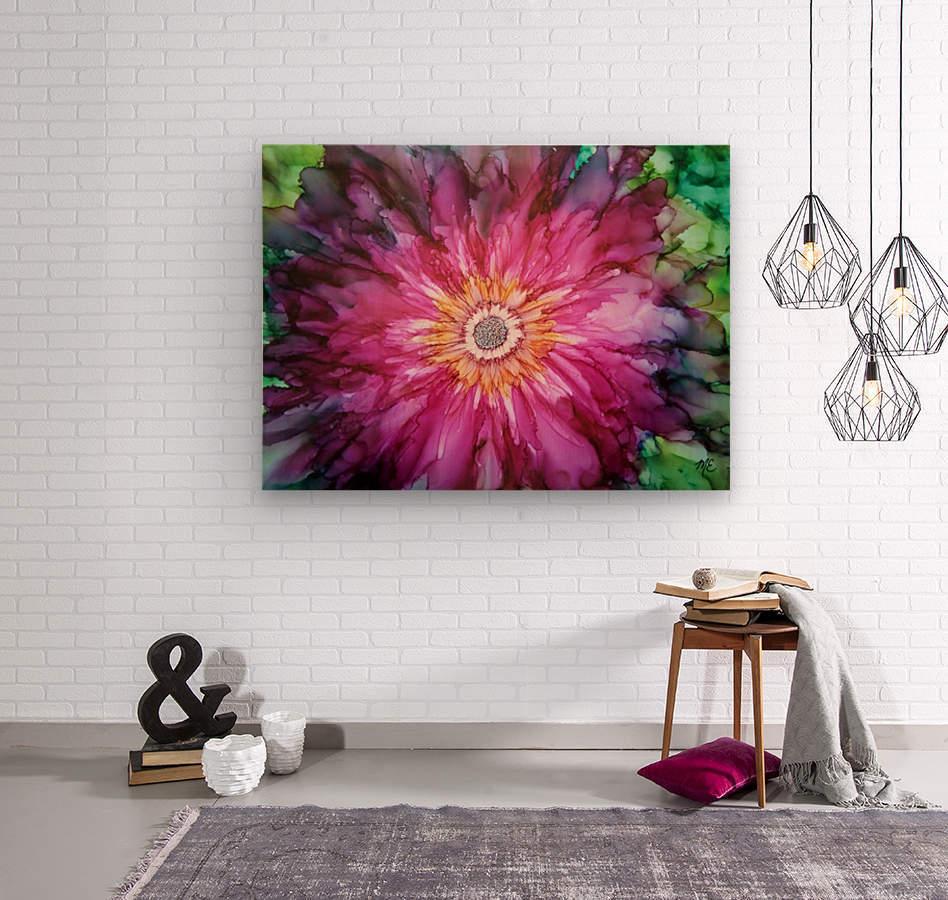 Forever Blooming  Wood print