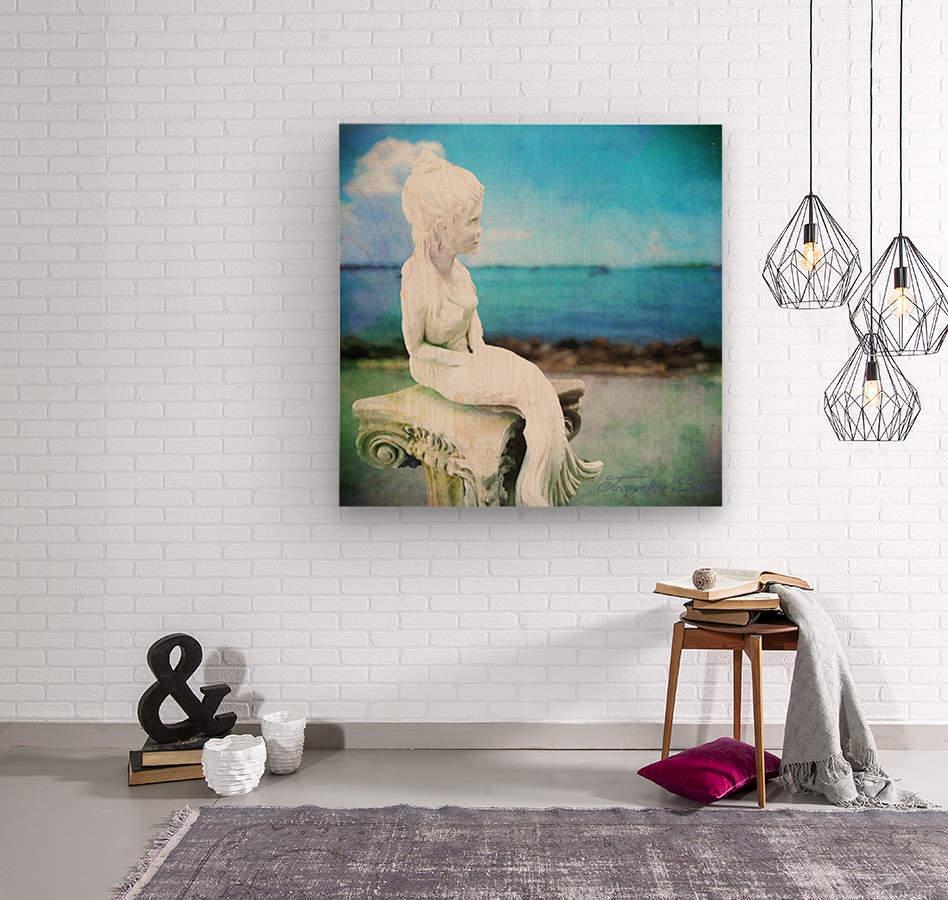 MermaidLisa  Wood print