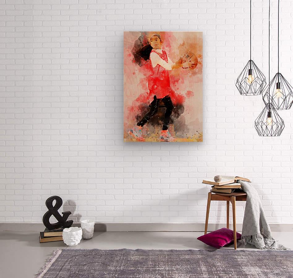 giana  Wood print