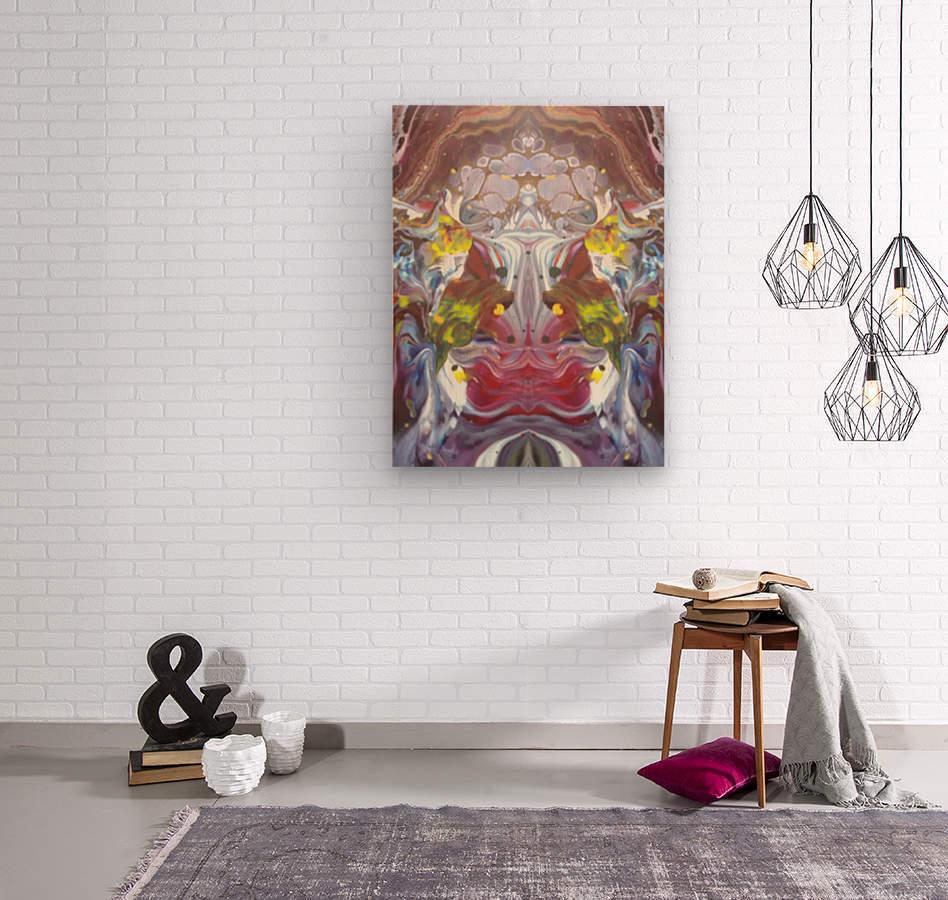 mirror26  Wood print