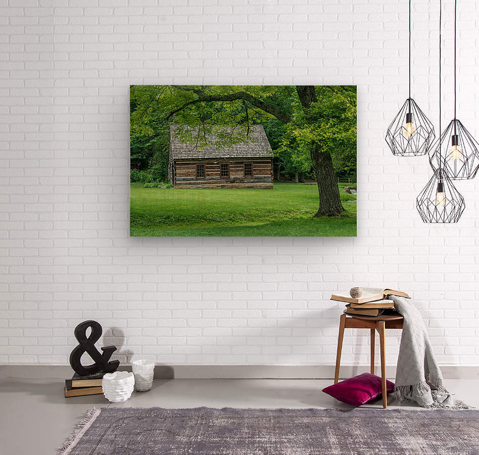 Spring Mill State Park - Mitchell - Indiana  Wood print