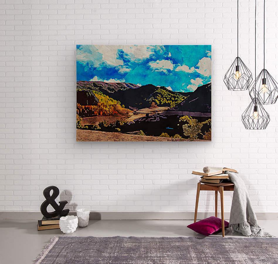 Beautiful Nature Object 12  Wood print