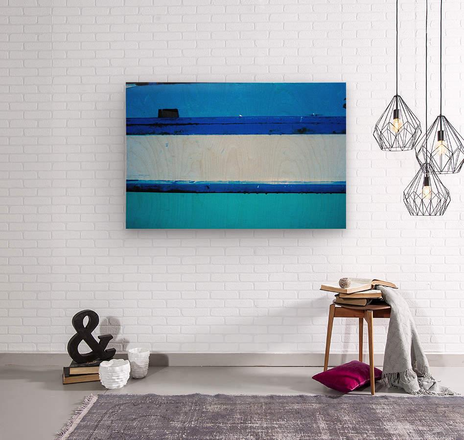 Boat - LXX  Wood print