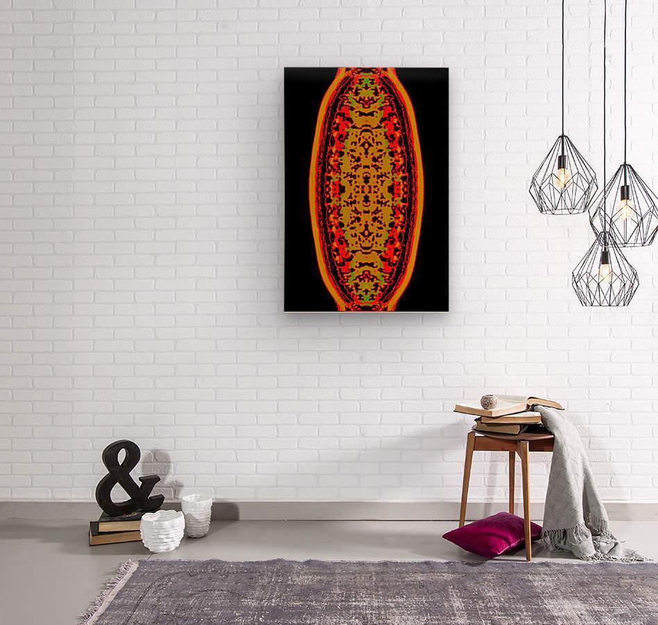 Shiva linga  Wood print
