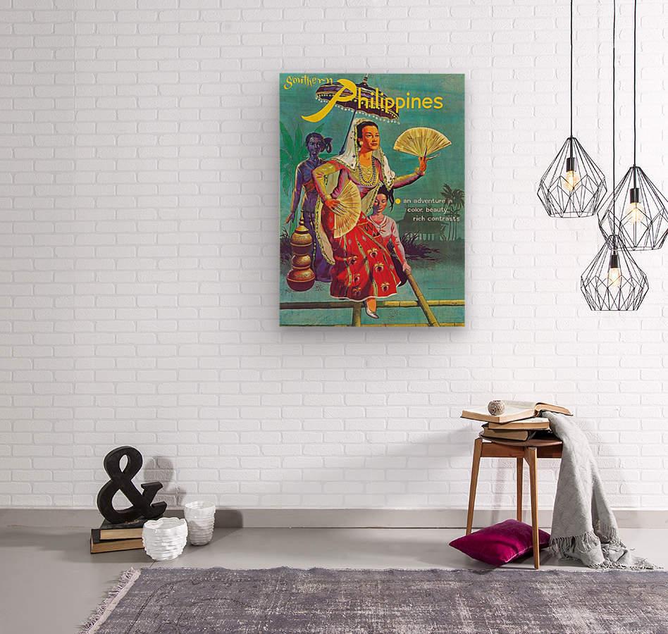 Philippines  Wood print