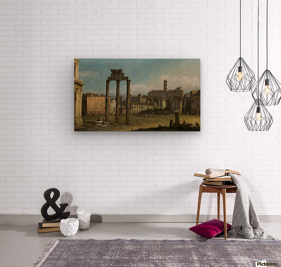 Ruins of the Forum, Rome  Wood print