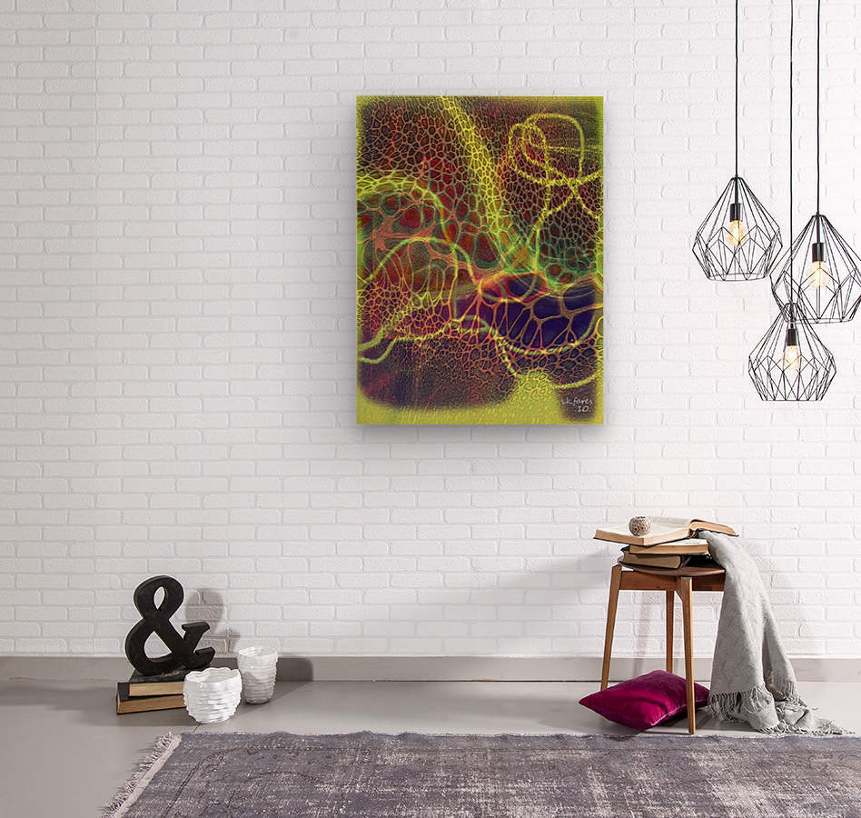 ABSTRACTART07  Wood print
