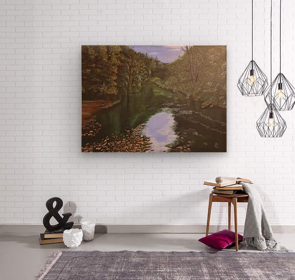 Derwent Walk  Wood print