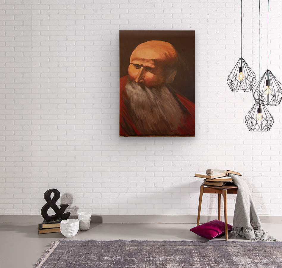 Abraham  Wood print