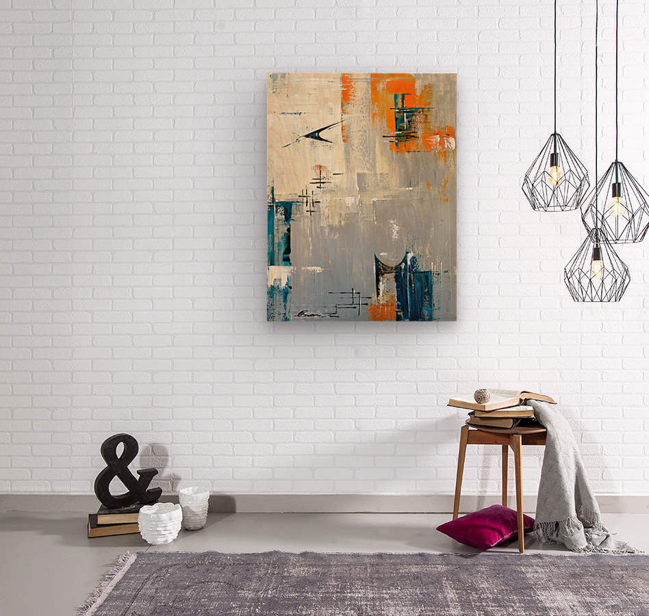 MCM Urban I  Wood print