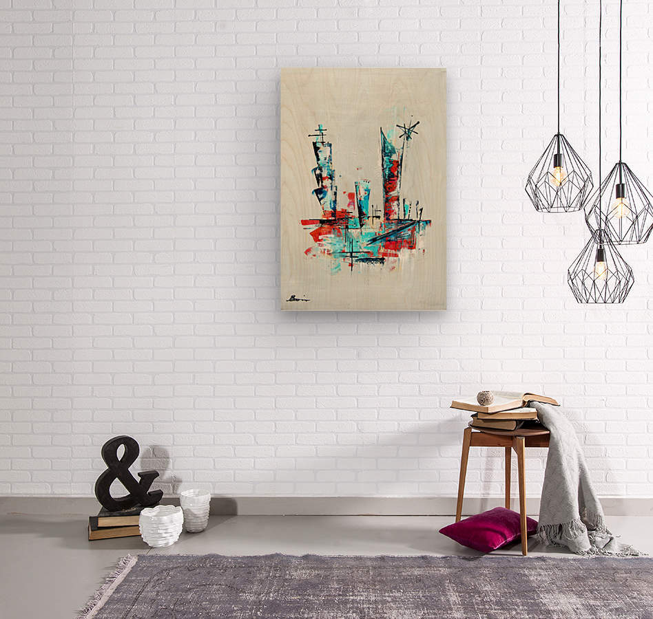Primavera VIII  Wood print