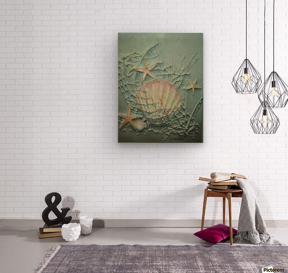 Starfish Image Art  Wood print