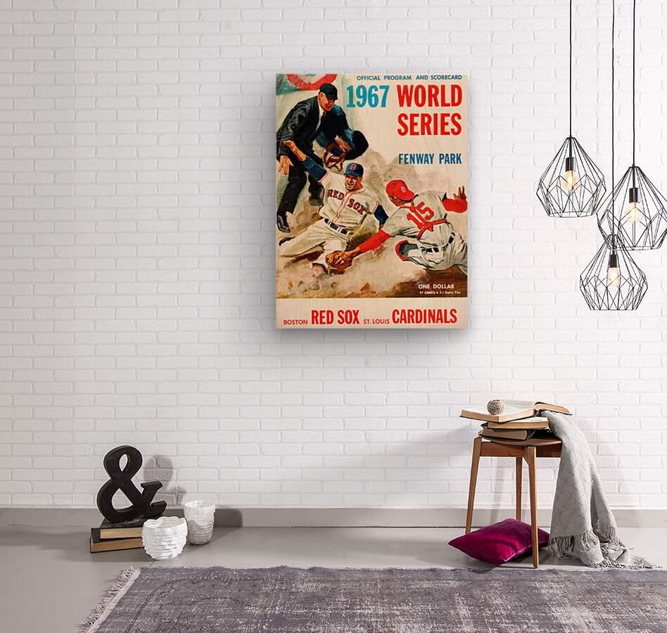 vintage advertisement heinz ketchup   Wood print