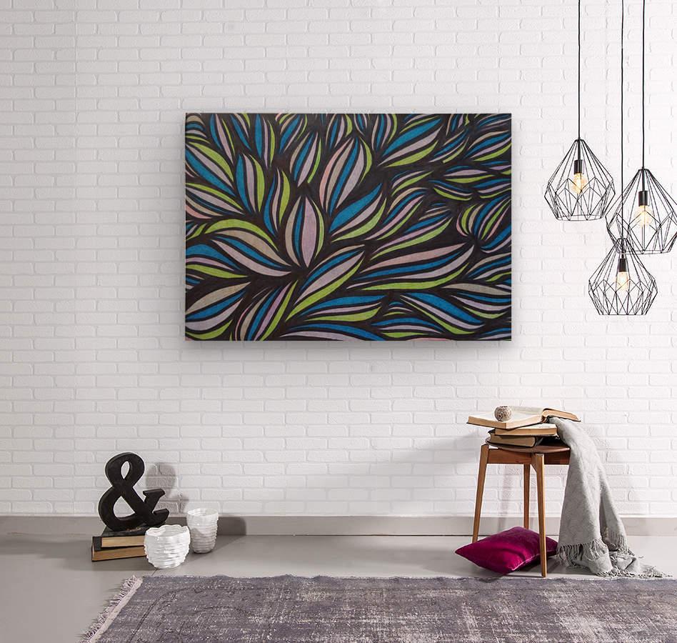 Caspia   Wood print