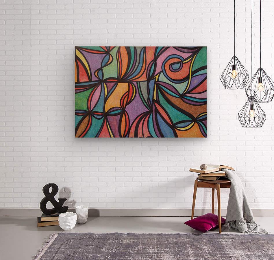 Dathan   Wood print