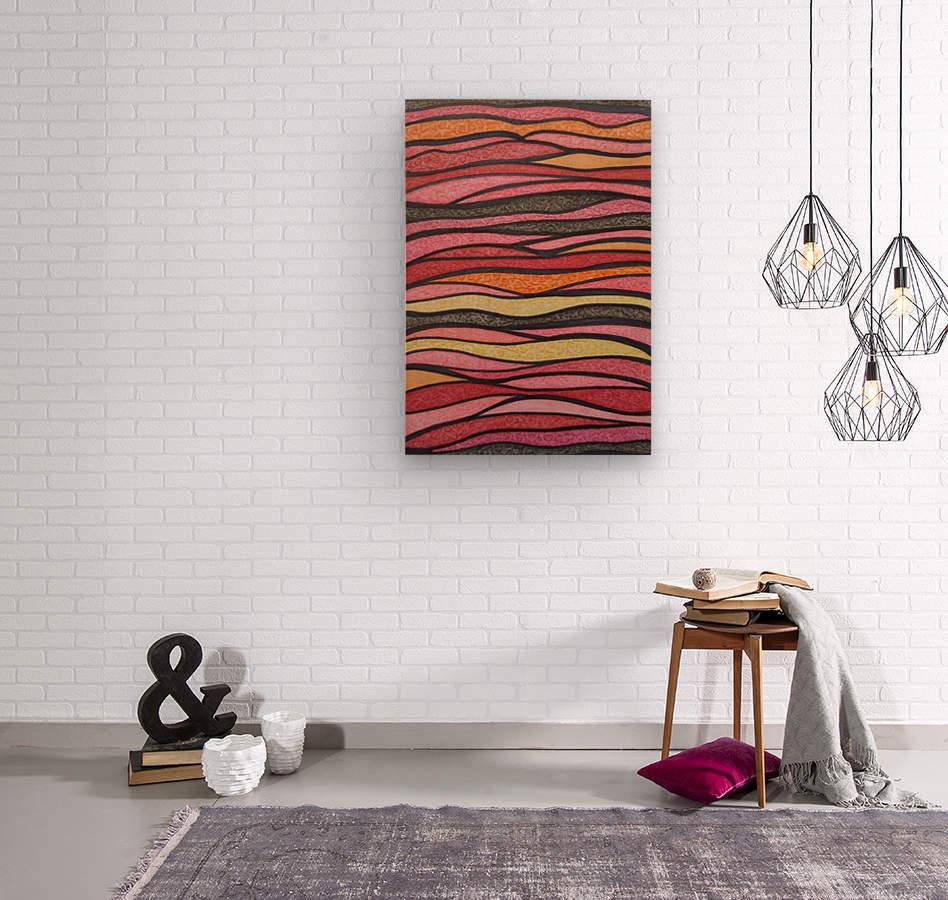 Serenna   Wood print