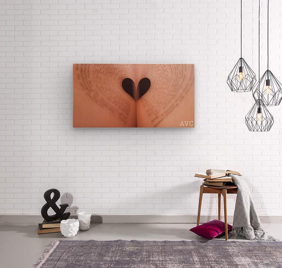 Love of Reading  Wood print